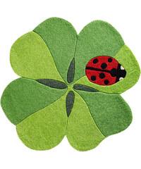 bpc living Teppich Kleeblatt in grün von bonprix