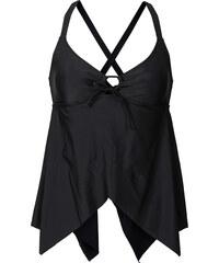 RAINBOW Tankini Oberteil in schwarz für Damen von bonprix