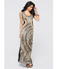 BODYFLIRT boutique Kleid in braun von bonprix