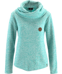 bpc bonprix collection Sweatshirt langarm in grün für Damen von bonprix