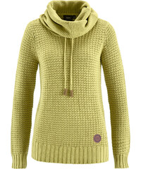 bpc bonprix collection Pullover langarm in grün für Damen von bonprix
