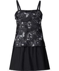 bpc selection Badeanzugkleid in Tankini-Optik in schwarz für Damen von bonprix