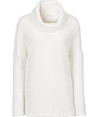 BODYFLIRT Rollkragenpullover langarm in weiß für Damen von bonprix