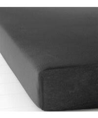 bpc living Spannbettlaken Jersey in schwarz von bonprix