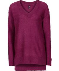 RAINBOW Oversized Pullover langarm in lila für Damen von bonprix