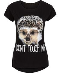 RAINBOW T-Shirt kurzer Arm in schwarz (Rundhals) für Damen von bonprix