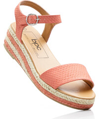 bpc bonprix collection Sandalette mit 5 cm Keilabsatz in rot von bonprix