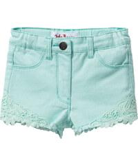 John Baner JEANSWEAR Jeans-Shorts, Gr. 80-134 in grün für Mädchen von bonprix