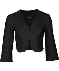 BODYFLIRT Scuba-Bolero in schwarz für Damen von bonprix