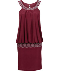 BODYFLIRT Cocktail-Kleid in rot von bonprix
