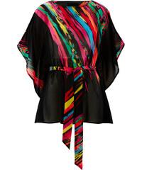 bpc selection Chiffon-Tunika bedruckt in schwarz von bonprix