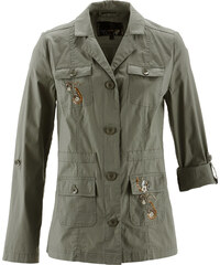 bpc selection Blusenjacke langarm in grün für Damen von bonprix
