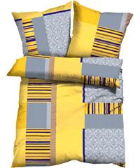 bpc living Bettwäsche Matis, Linon in gelb von bonprix