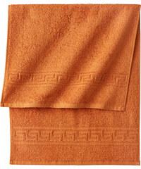 bpc living Handtuch Leander in orange von bonprix