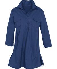 bpc selection Bluse halber Arm in blau von bonprix