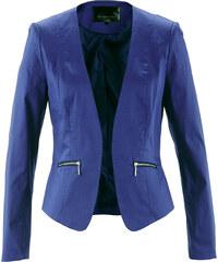 bpc selection Blazer langarm in blau (V-Ausschnitt) für Damen von bonprix