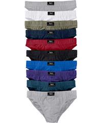 bpc bonprix collection Slip (10er-Pack) in grau für Herren von bonprix