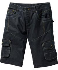 RAINBOW Jeans-Bermuda Loose Fit in schwarz für Herren von bonprix