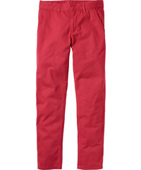 RAINBOW Chino Slim Fit Straight in rot für Herren von bonprix