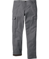 bpc bonprix collection Thermo-Cargohose in grau für Herren von bonprix