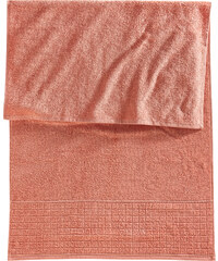 bpc living Handtuch Neele in rot von bonprix