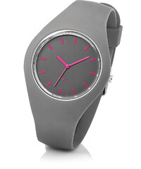 bpc bonprix collection Silikonarmbanduhr in grau für Damen von bonprix