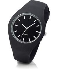 bpc bonprix collection Silikonarmbanduhr in schwarz für Damen von bonprix