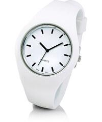 bpc bonprix collection Silikonarmbanduhr in weiß für Damen von bonprix
