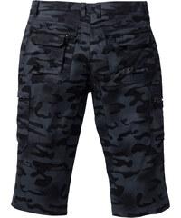 RAINBOW 3/4 Hose Baggy Fit Straight in schwarz für Herren von bonprix