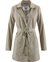 bpc bonprix collection Nylon-Trenchcoat langarm in grau für Damen von bonprix