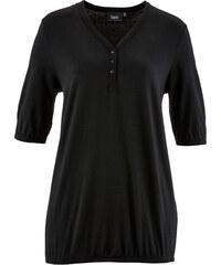 bpc bonprix collection Shirt, Halbarm in schwarz für Damen von bonprix