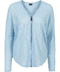 BODYFLIRT Strickjacke in blau für Damen von bonprix