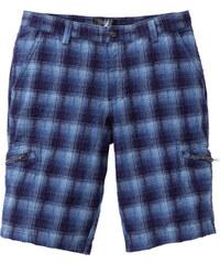 bpc bonprix collection Karo-Bermuda Loose fit in blau für Herren von bonprix