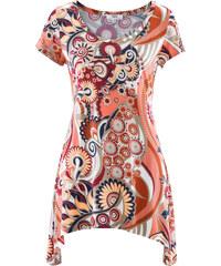 bpc bonprix collection Kurzärmliges Zipfel-Shirt kurzer Arm in rot für Damen von bonprix