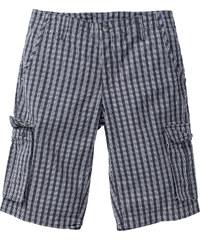 bpc bonprix collection Karo-Bermuda Regular Fit in grau für Herren von bonprix
