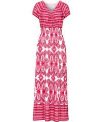 BODYFLIRT boutique Maxikleid/Sommerkleid in rot von bonprix