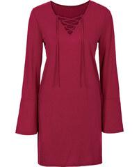 RAINBOW Tunika-Shirt langarm in pink für Damen von bonprix