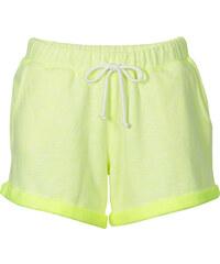 RAINBOW Sweatshorts in gelb für Damen von bonprix