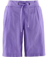 bpc bonprix collection Leinen-Shorts in lila für Damen von bonprix
