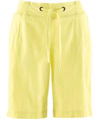 bpc bonprix collection Leinen-Shorts in gelb für Damen von bonprix