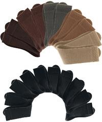 Herrensocken Cotton Republic (20er-Pack) in schwarz für Herren von bonprix
