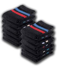 GO IN Sportsocken (12er-Pack) in schwarz von bonprix