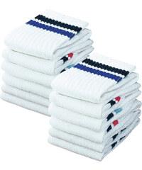 GO IN Sportsocken (12er-Pack) in weiß von bonprix