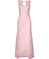 BODYFLIRT Kleid in rosa (V-Ausschnitt) von bonprix