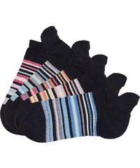 Arizona Sneakersocken (5er-Pack) in schwarz für Damen von bonprix