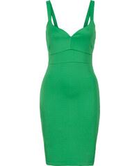 BODYFLIRT boutique Kleid in Scubaoptik in grün von bonprix