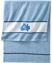 bpc living Handtuch Rose in blau von bonprix