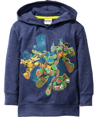 Teenage Mutant Ninja Turtles Kapuzenshirt TURTLES, Gr. 80/86-128/134 langarm in blau für Jungen von bonprix