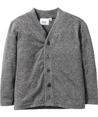 bpc bonprix collection Shirtjacke, Gr. 80/86-128/134 langarm in grau für Jungen von bonprix