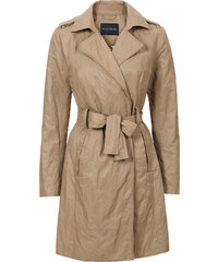 BODYFLIRT Nylon Trenchcoat langarm in beige für Damen von bonprix